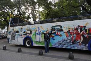 tour bus Buenos Aires